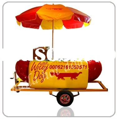 hot dog vending carts
