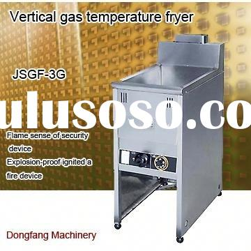industrial deep fryer, vertical gas temperature fryer