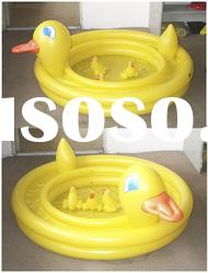 inflatable duck pool/swimming pool/baby bath pool/swim set