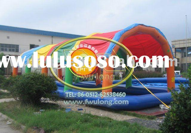 inflatable swimming tent pool,children playground