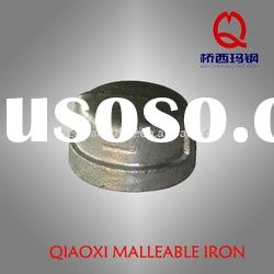 malleable cast iron pipe fitting galvanized cap