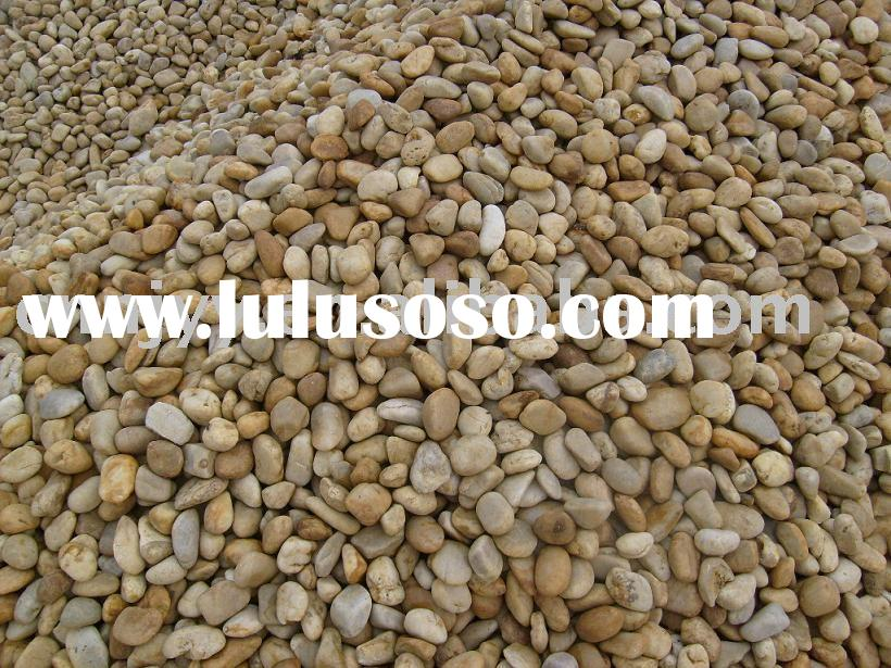 natural pebble & river stone, pebble stone, paving stone, stepping stone, landscape stone