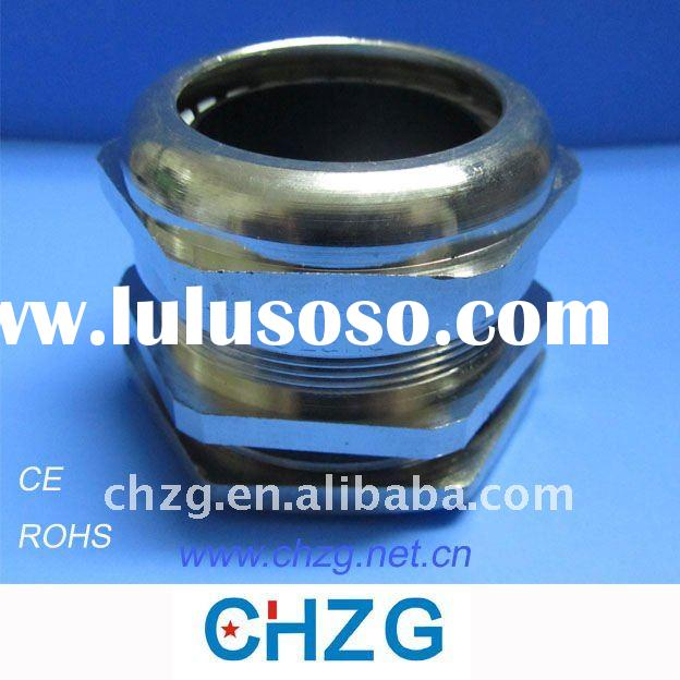 nickel plated cable glands large quantity in stock