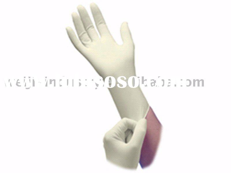 non-sterile Latex disposable gloves for examination use