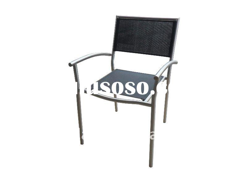 outdoor dining chair stainless steel furniture