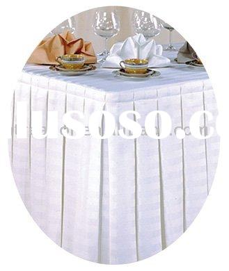 Polyester Table Skirt,table Skirt ,table Cloth