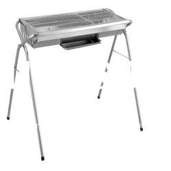 portable stainless steel charcoal grill (FSF435-6)