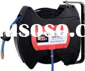 retractable air hose reel (PVC hose 15m)