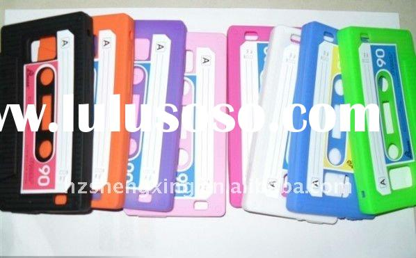 retro tape silicone case for Samsung Galaxy S2