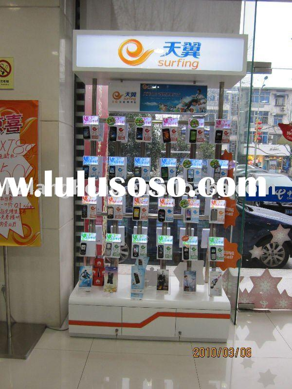 security display stand for cell phone,eperience display stand