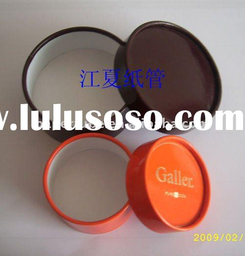 small paper weding gift packaging box/handmake round cardboard gift box for candy/packaging slide ca