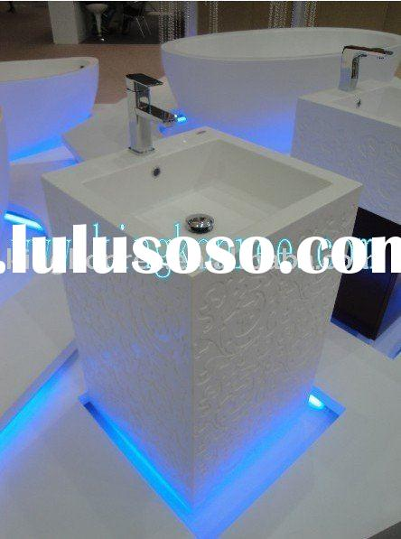 sound quality acrylic solid surface kitchen sink or basin