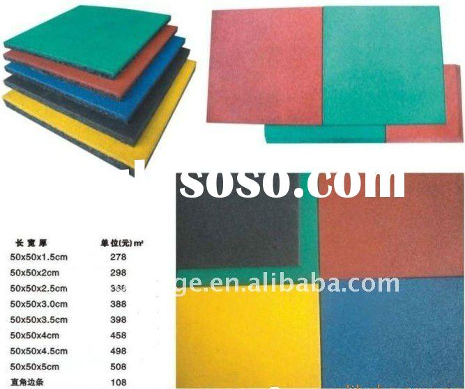 sport outdoor playground rubber mats