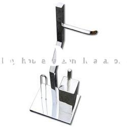stainless steel toilet brush bin,bathroom accessories,bath set,holder