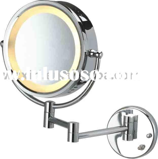 wall mounted cosmetic mirror with light hsy98