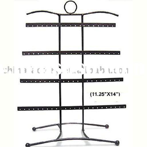 wholesale metal earring counter jewelry display stand