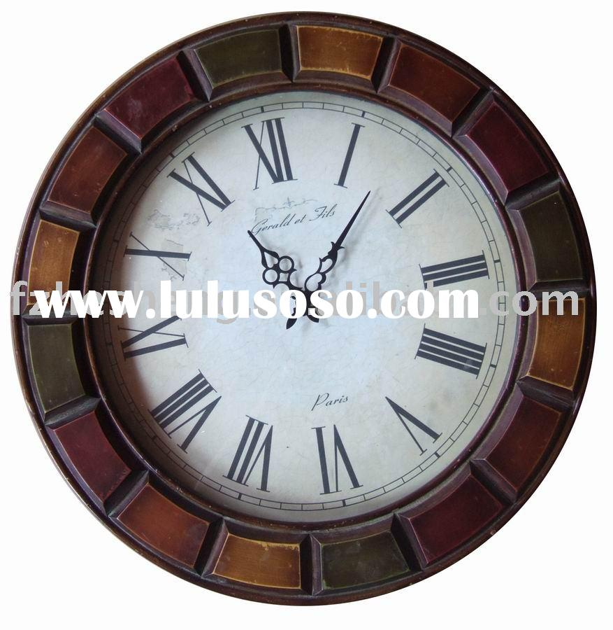 wooden clock,clock,wall clock
