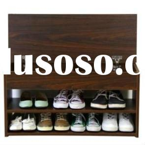 wooden design modern shoe cabinet