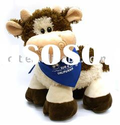 09010- baby cow,cow toy,stuffed cow,plush toys,animal toys(CE/ASTM)