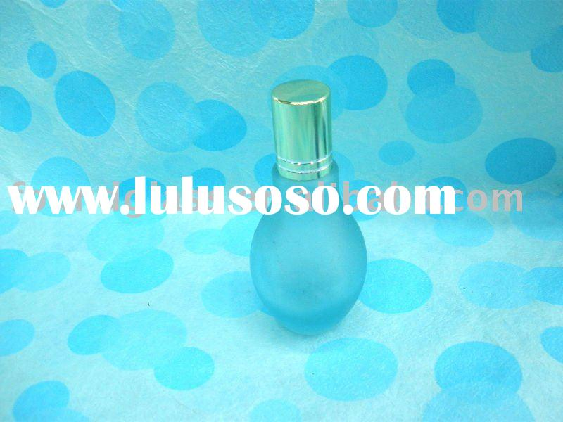 10ml small blue glass perfume bottle cosmetic packaging perfume sprayer bottles pet bottle FG-204