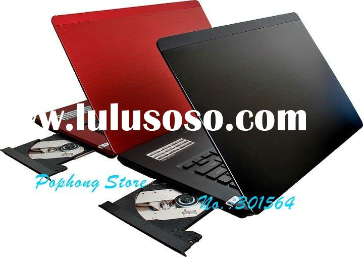 14 inch Dual Core DVD-RW Windows 7 Laptop Computer AMD G-T56N 4G/640G Dedicated Card