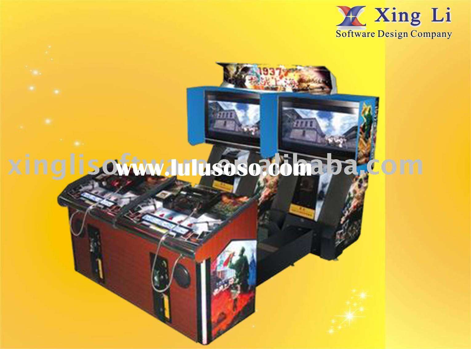 1937 Shanghai War Shooting machine, double arcade machine, video game machine