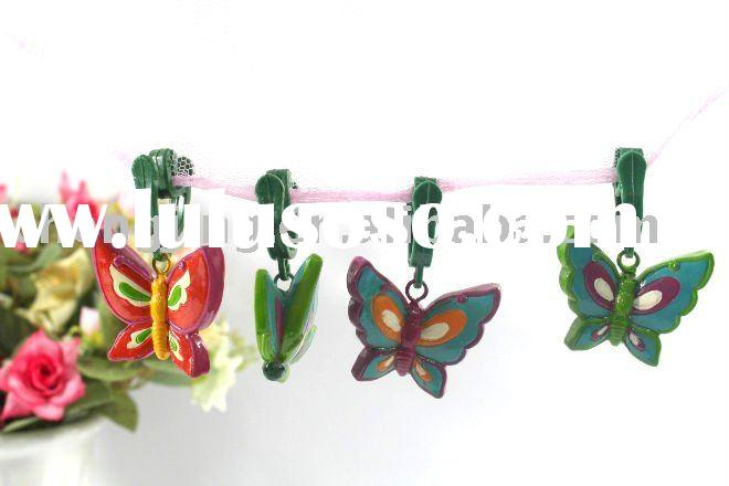 2011 Polyresin butterfly Tablecloth Clip/tablecloth weight clips