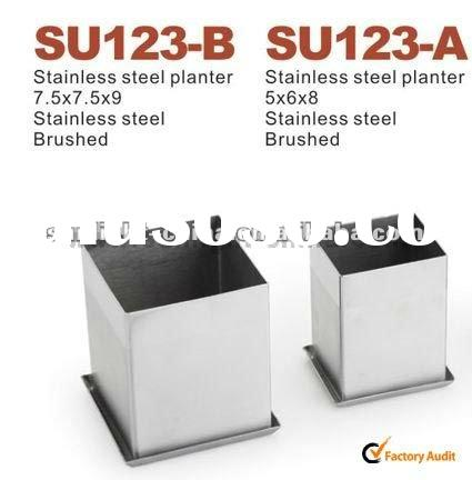2012 Hot Stainless Steel flower Planter / flower pot