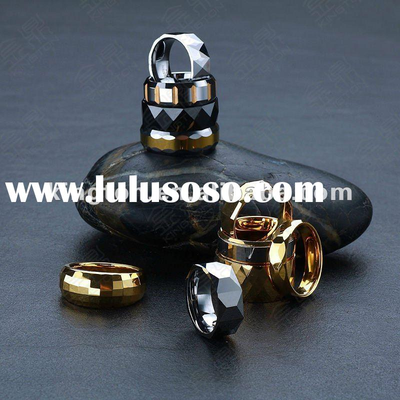 2012 mens big titanium steel jewellery rings costume jewellery
