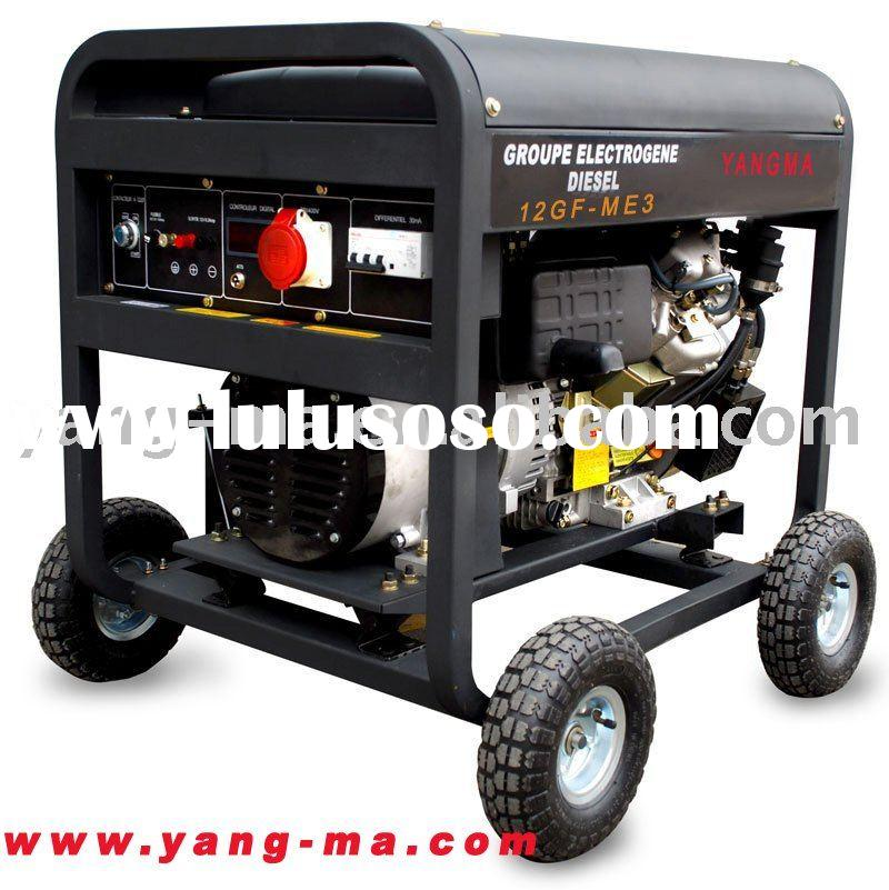 5KW open frame air cooled diesel engine power generator set