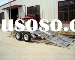 5 tons Vehicle transport Utility flat bed trailer CE approved