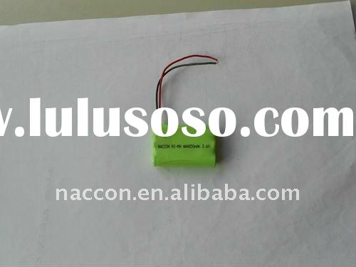 AAA850mAh 3.6v NiMH rechargeable battery pack