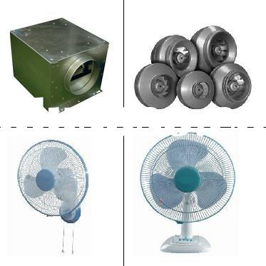 Acoustic Box fan / in-line fan / wall fan / stand fan / table fan