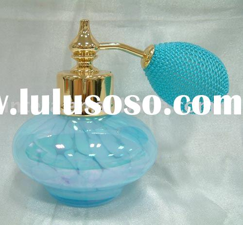 Attractive and Colorful Hand-made Glass Perfume Bottle
