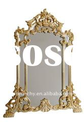 B3002-30L excellent 2011 antique french style hand carving bedroom furniture dressing table mirror