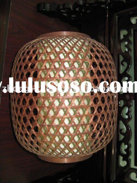 Bamboo lanterns, new lanterns, traditional Chinese arts and crafts lanterns
