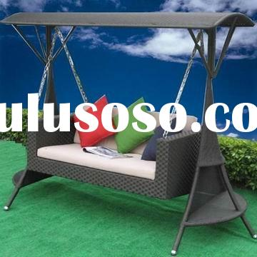 CH-W080 garden Wicker swing chair outdoor furniture