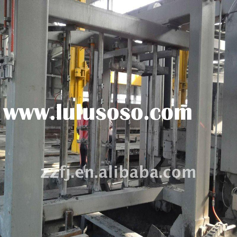 Chinese Government Authorized Manufacturer Autoclaved Aerated Concrete Block Machine