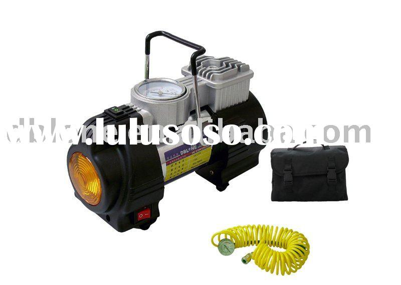 DC 12V air compressor (with emergency light)