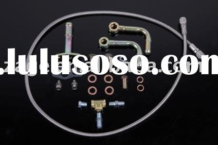 DIY Turbo oil water pipe kit for Mitsubishi TF035, TD04 Turbocharger