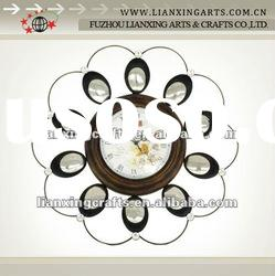 Fashion Design Metal Wall Clock For Home Decoration
