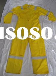 Fire Retarded Safety Coverall with reflective tape