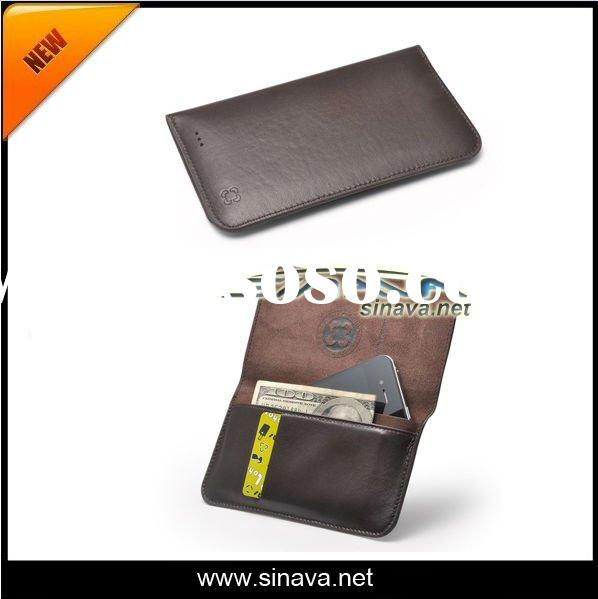 Flip Wallet PU leather case girls favor ID/Credit card holder leather cover case for iphone 4 4S