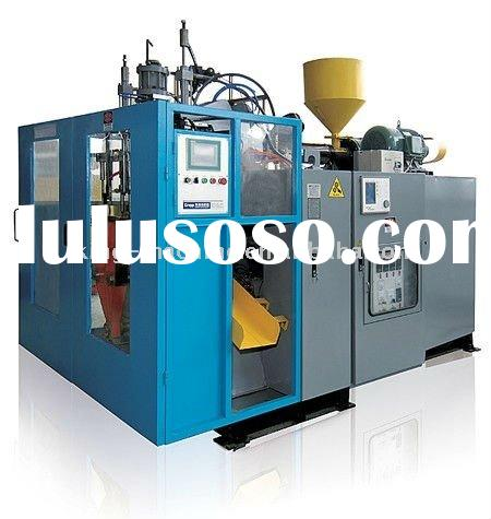 Full Automatic Bottle Blow Molding Machine / Extruder Blow Moulding Machine
