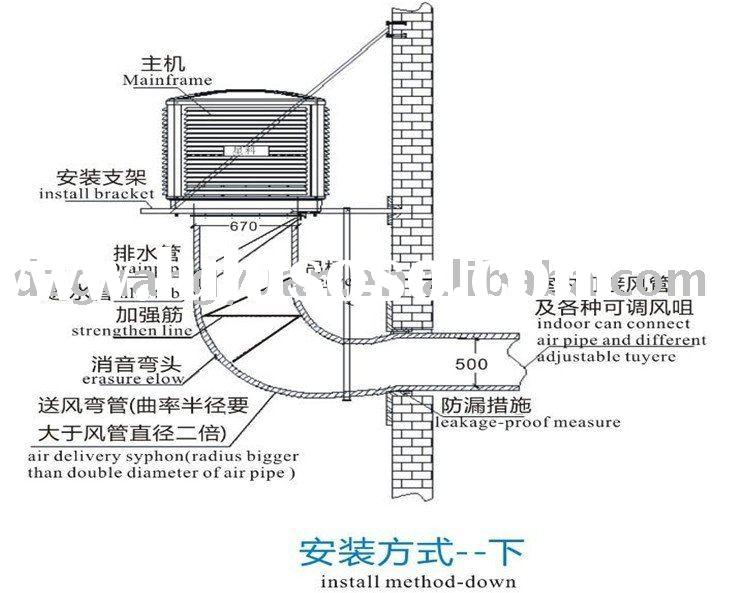 iwata evaporative air conditioner diagram  iwata