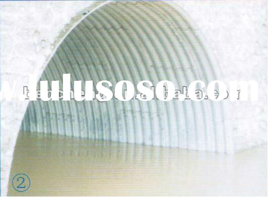 Galvanized Corrugated Steel Culvert Pipe