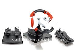Gaming racing wheel for PS2,PS3,PC