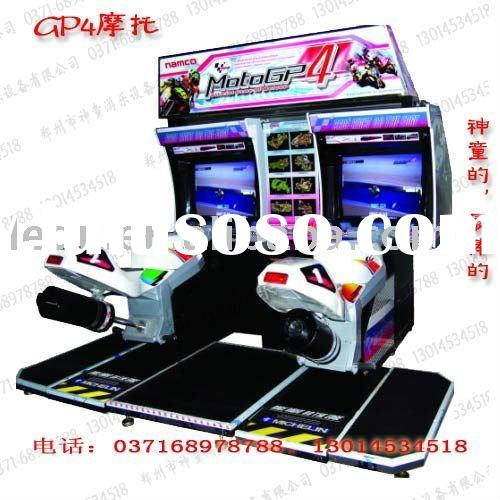 HQ coin operated Moto GP4 racing game machine