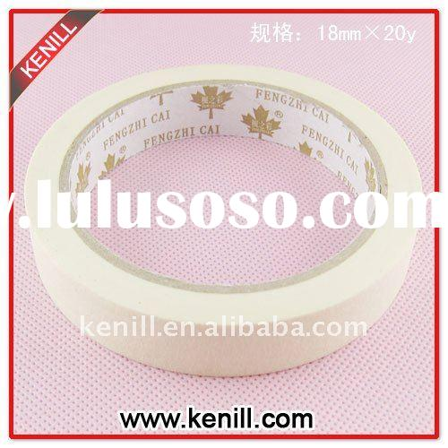 Hi guys!best sale,fair price Widely used in auto&decoration crepe paper masking tape