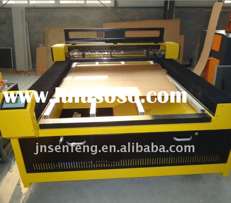 Hot sale!! Laser Cutting Machine for Leather/Cloth/Shoe/Rubber Processing Industry